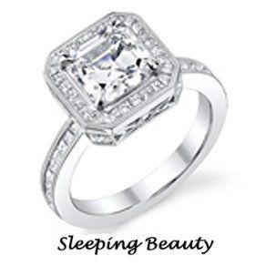 Disney engagement rings Sleeping Beauty Engagement ring by Disney