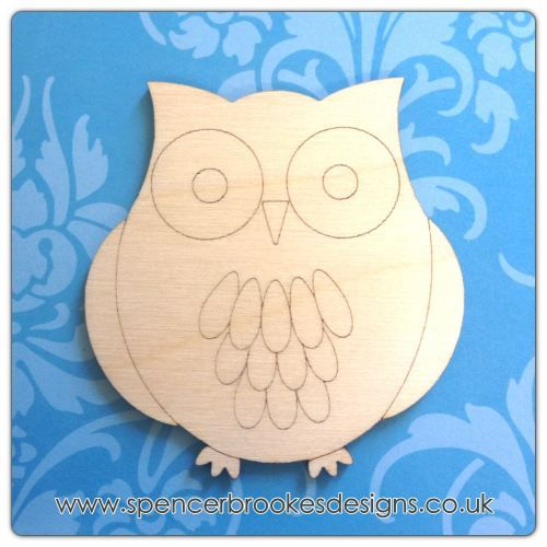 Benny Owl FENOMENAL Pinterest Owl, Laser cutting and Wooden shapes