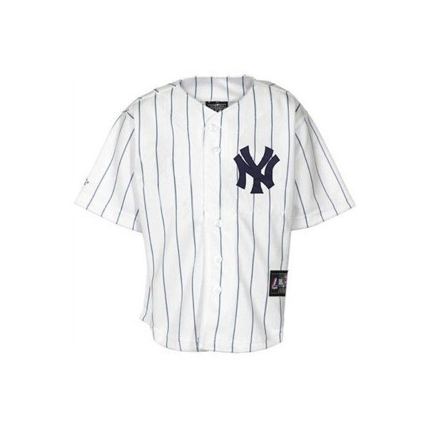 Majestic New York Yankees Youth Replica Jersey White New York Yankees Yankees Jersey