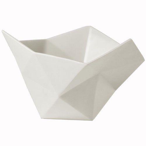 Crushed bowl kulho pieni, valkoinen Muuto - Osta kalusteita verkossa osoitteessa ROOM21.fi