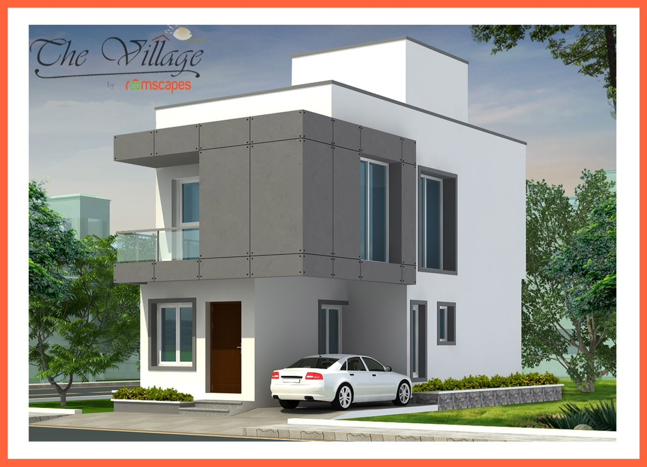 Main Exterior Image Sent By Asian Paints Officer Color Combination