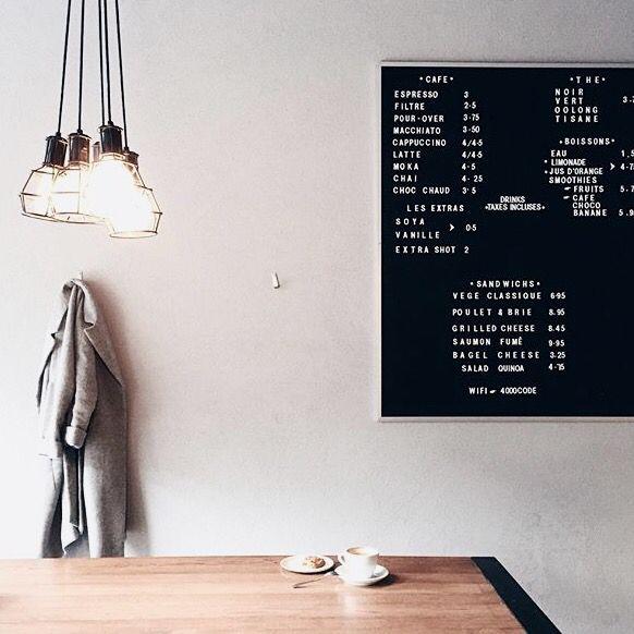 Cafe code black. Montreal