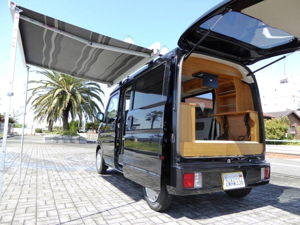 軽キャンピングカー エブリイ da17v 三重県四日市市 オートスピリット バンでのキャンプ キャンピングカー エブリィ