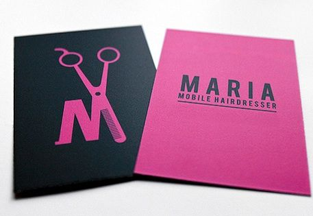 Hairdresser logo. This is funny my moms name is Maria and she does ...
