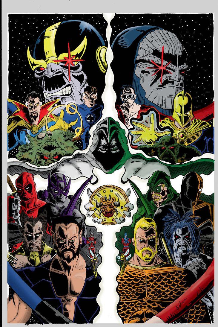 marvel_vs_dc_comic__color__by_coreyjdavis-d5rc53k.jpg (730×1093)