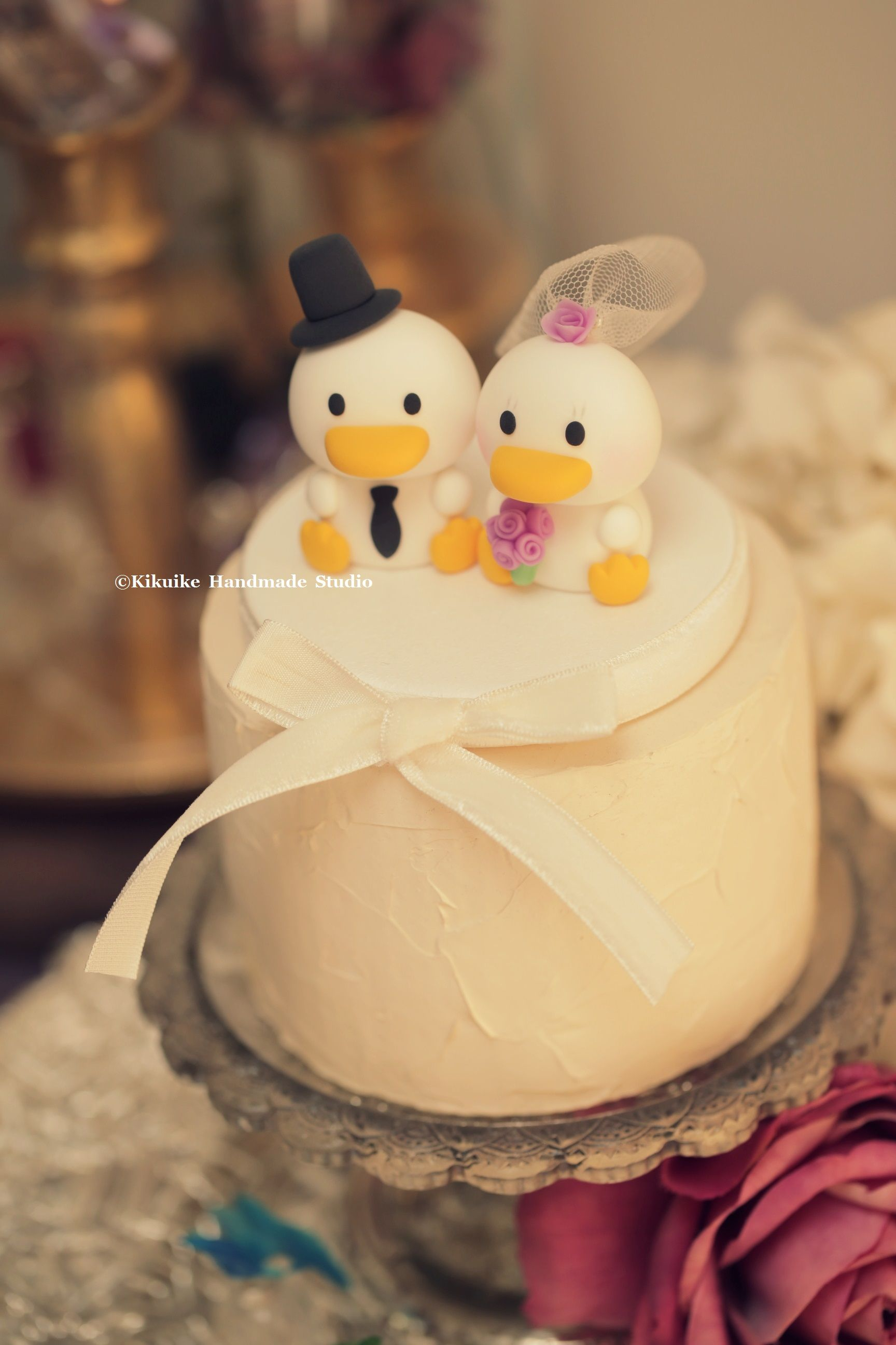 Ducks wedding cake topper | Lovely Animals Topper | Pinterest ...