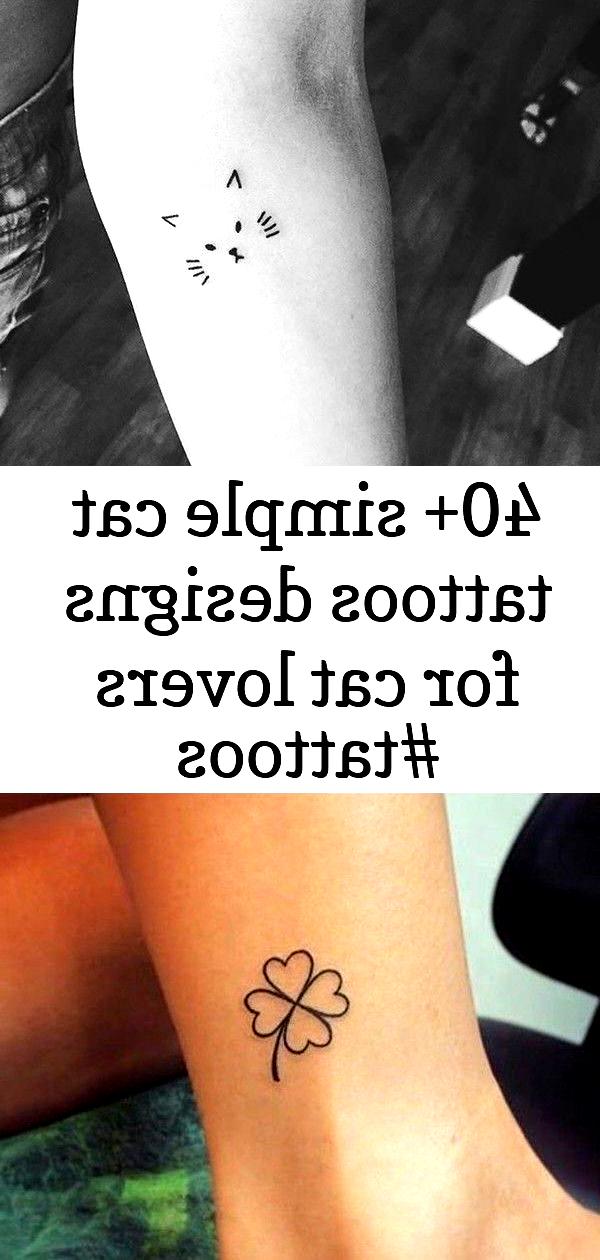 Photo of 40+ dessins de tatouages de chat simples pour chat L … – #Cat #Designs #simple #Tatouages