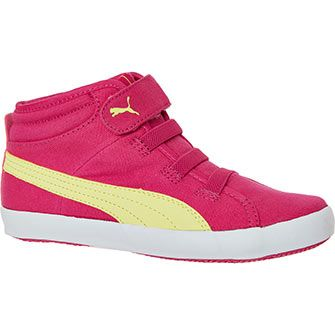 Pink Puma High Top Trainers