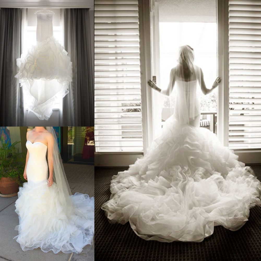 Spring mermaid wedding dresses strapless mildred style bridal