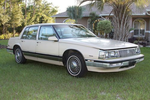 Purchase New 1986 Buick Park Ave Electra 4 Door Second Owner Low