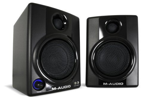 These speakers are magnetically shielded for desktop use. With the M-Audio AV30 Compact Monitor Speakers you get 2-way 3 woofers with 1 silk dome tweeters that deliver professional quality sound. Bring home this amazing sound system today.