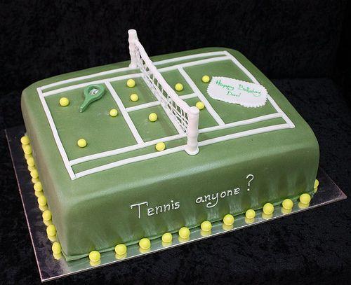 Tennis Cake Tennis Cake Tennis Birthday Cake