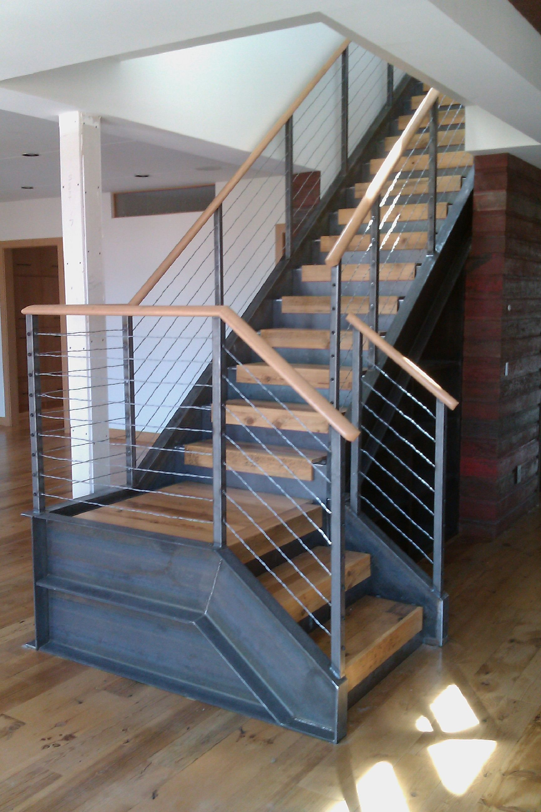 Lovely Industrial Staircase, Its All In The Detailsu2026