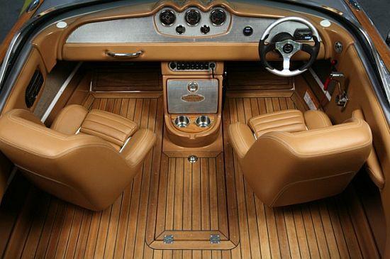 Chris Craft Boat Interior