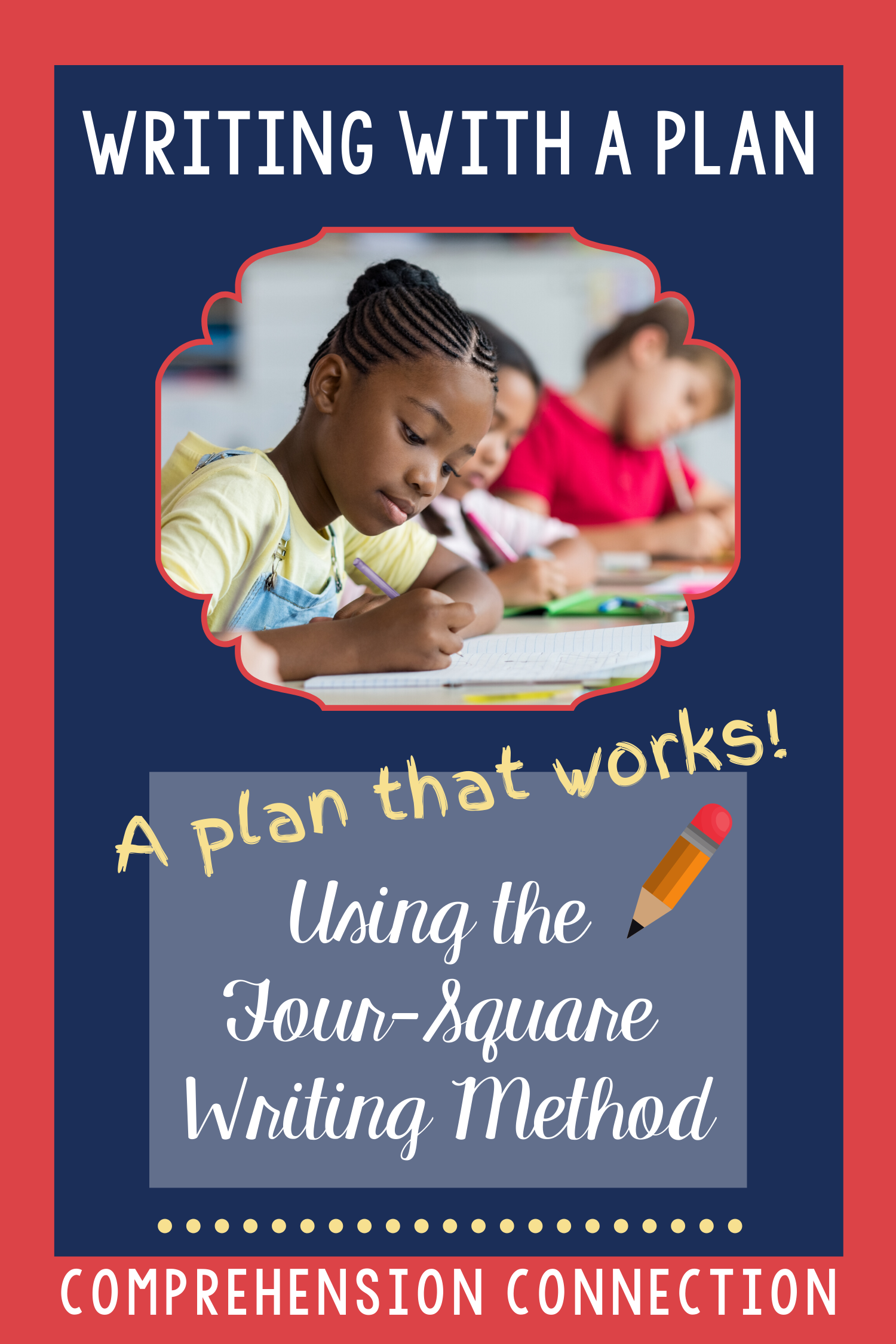 Writing With A Plan Using The Four Square Writing Method