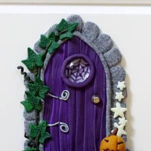 witchy door pumpkin