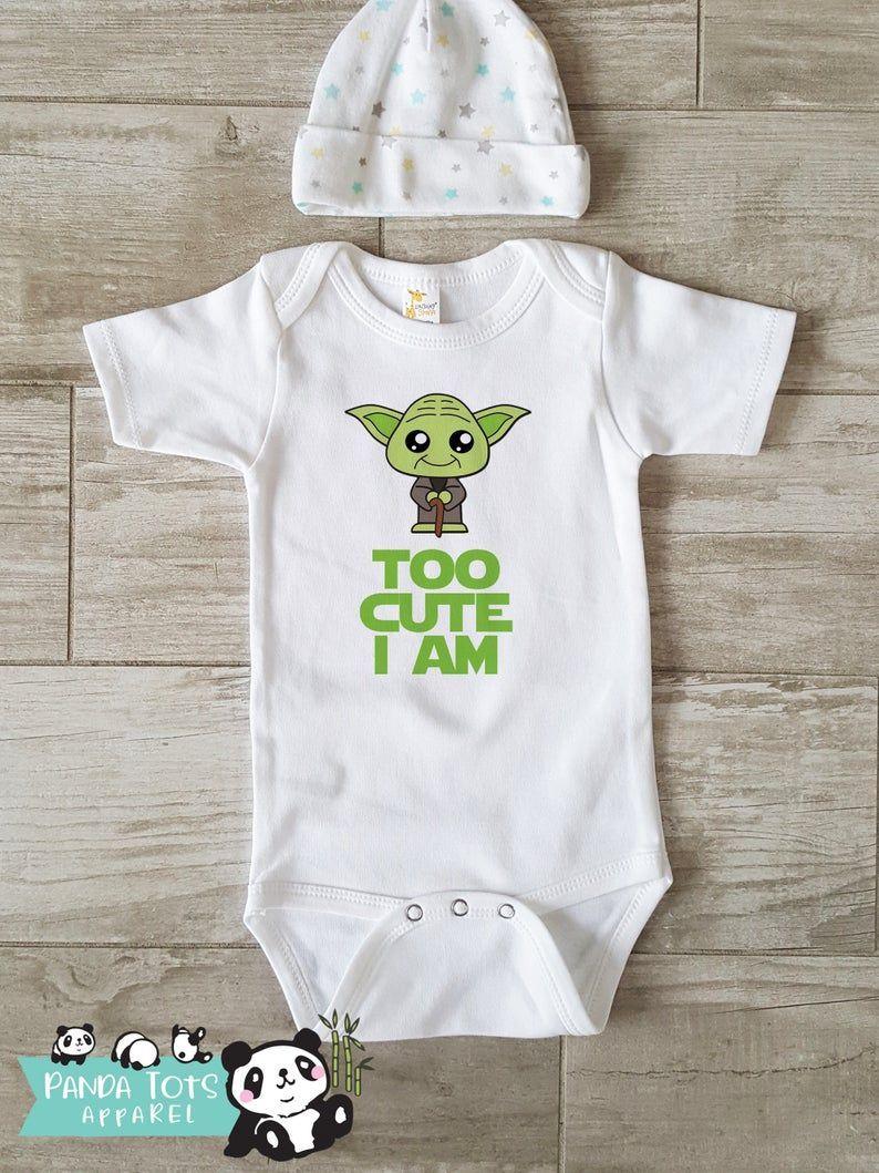 Star Wars Cute Chewbacca Free Hugs Baby Short Sleeve Bodysuit