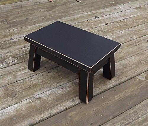 Fine Handmade Furniture Black Wooden Step Stool Foot Stool Gmtry Best Dining Table And Chair Ideas Images Gmtryco