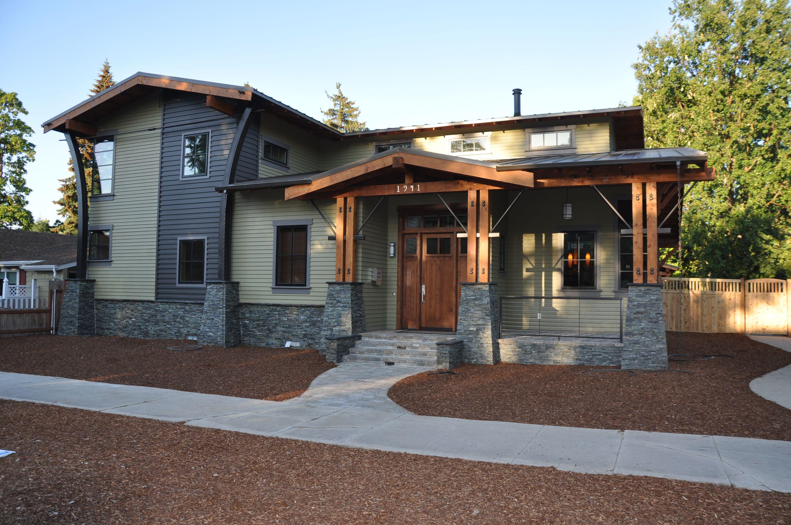 Postmodern Craftsman | Wallace Renovations | Postmodern Homes ...