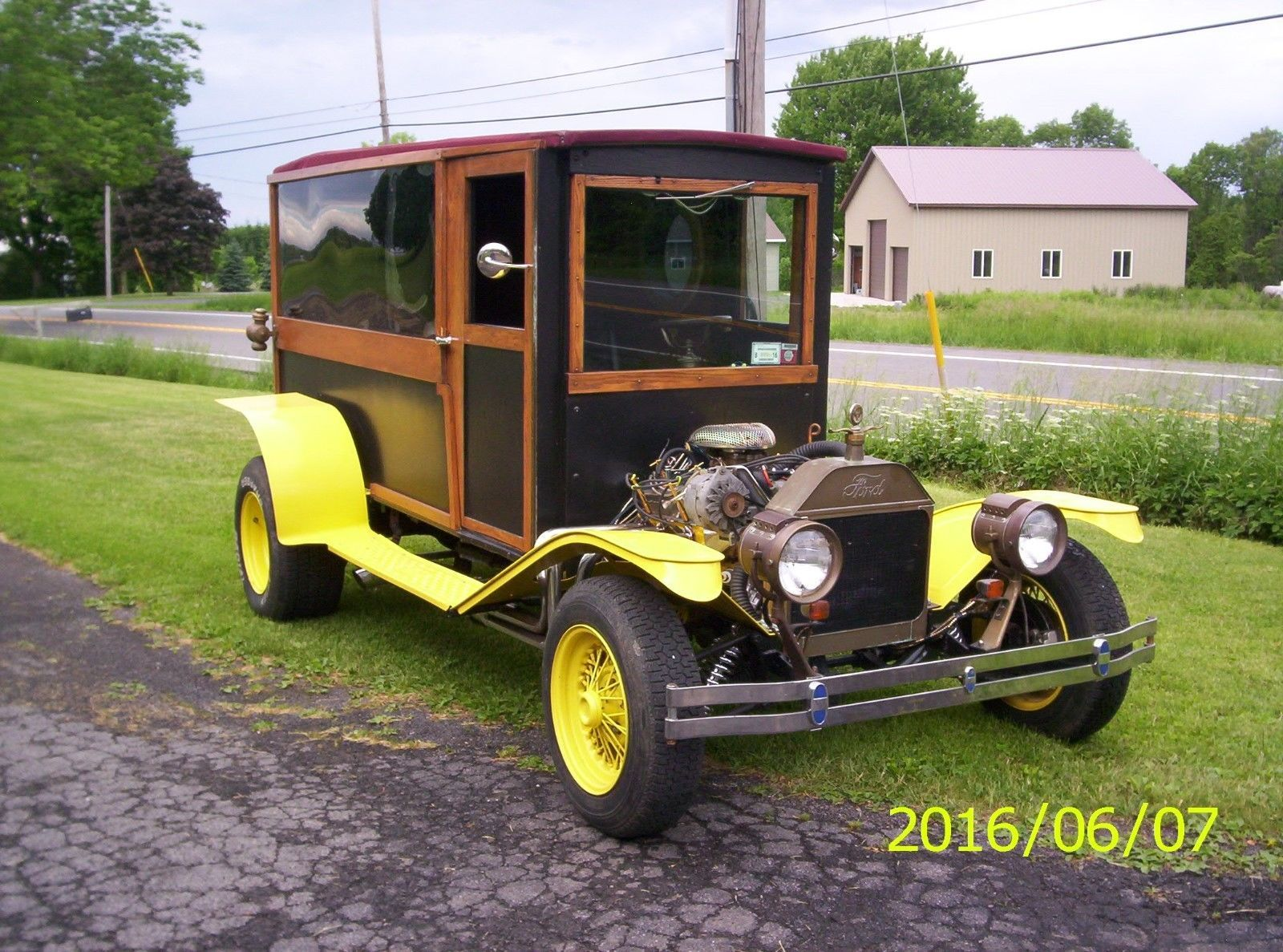 Woody 1910 Ford Model T hot rod | Hot rods for sale | Pinterest