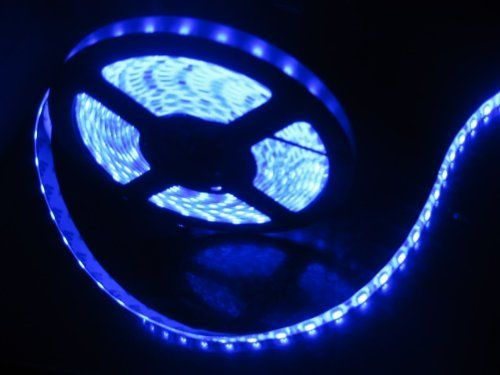 164ft 5m Waterproof Flexible 300 Leds Color Blue Smd5050 Led Light Strip Kit With 12v Power Supply Ideal For Strip Lighting Led Light Strips Flexible Led Light