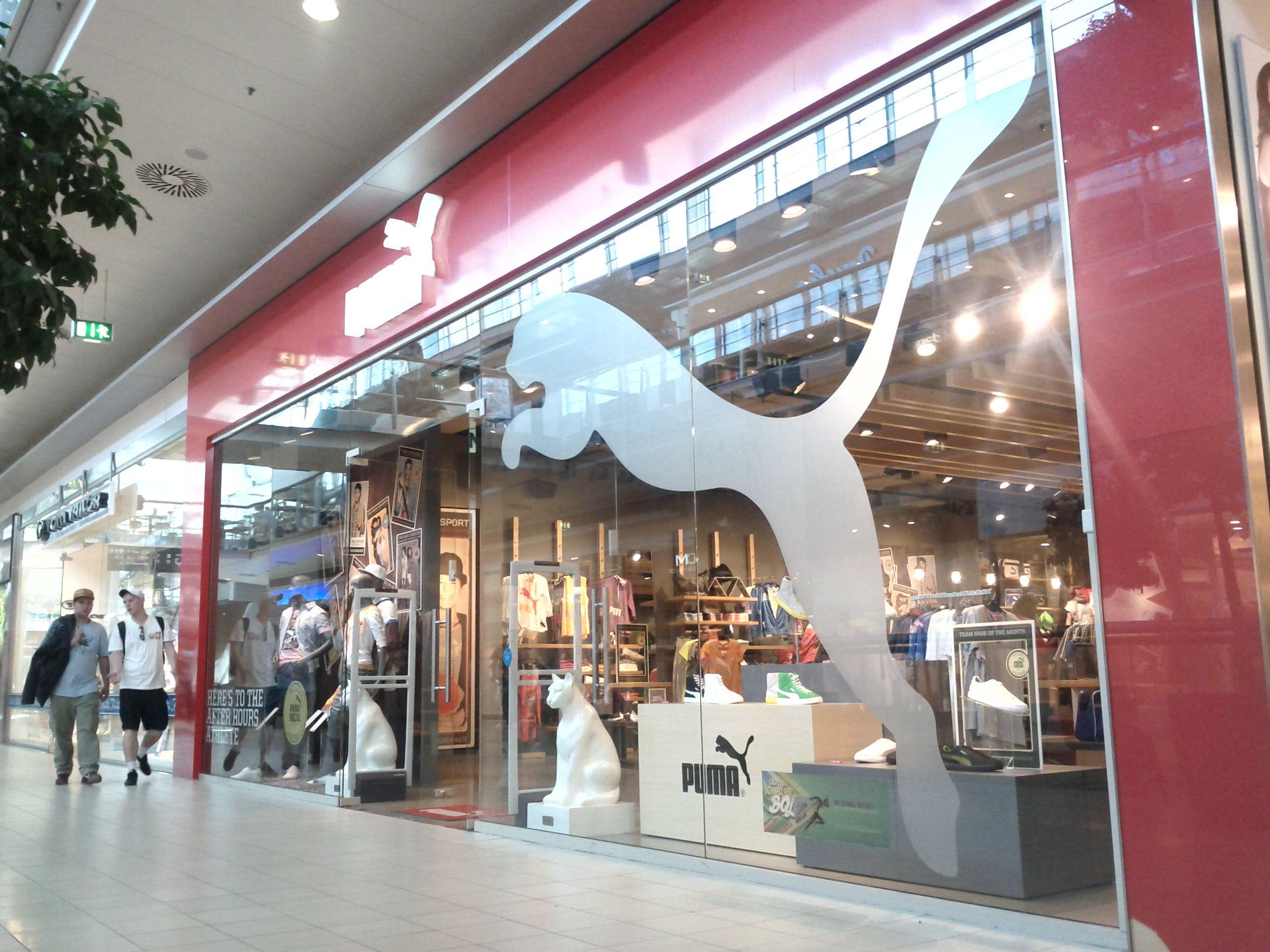 The puma store donauzentrum vienna austria