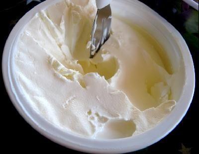 Dip de queso crema con apio