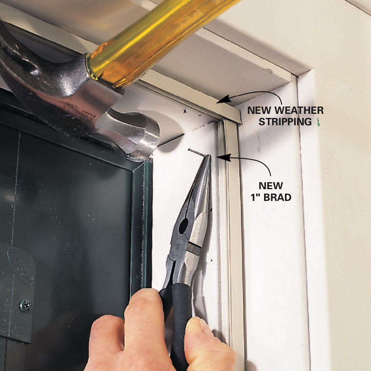 Comfort Plus Magnetic Door Weatherstrip Rona Aluminum Molding Magnets