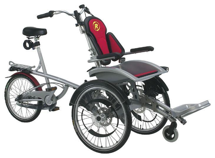 tandem bike for disabled