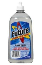 Future Floor Polish Can Be Used As A Brush On Acrylic Sealer For A