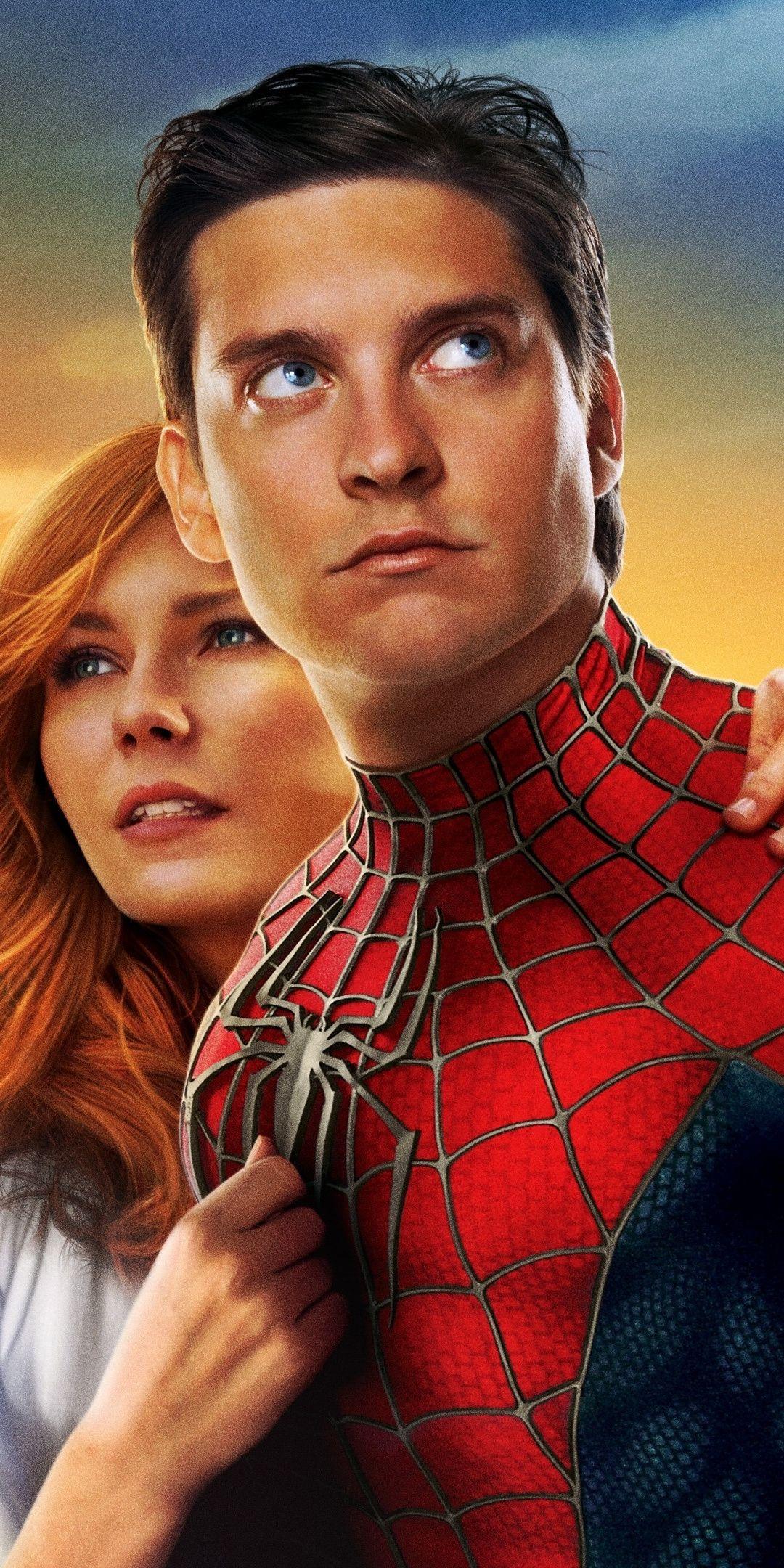 Spiderman, 2002 movie, poster, 1080x2160 wallpaper