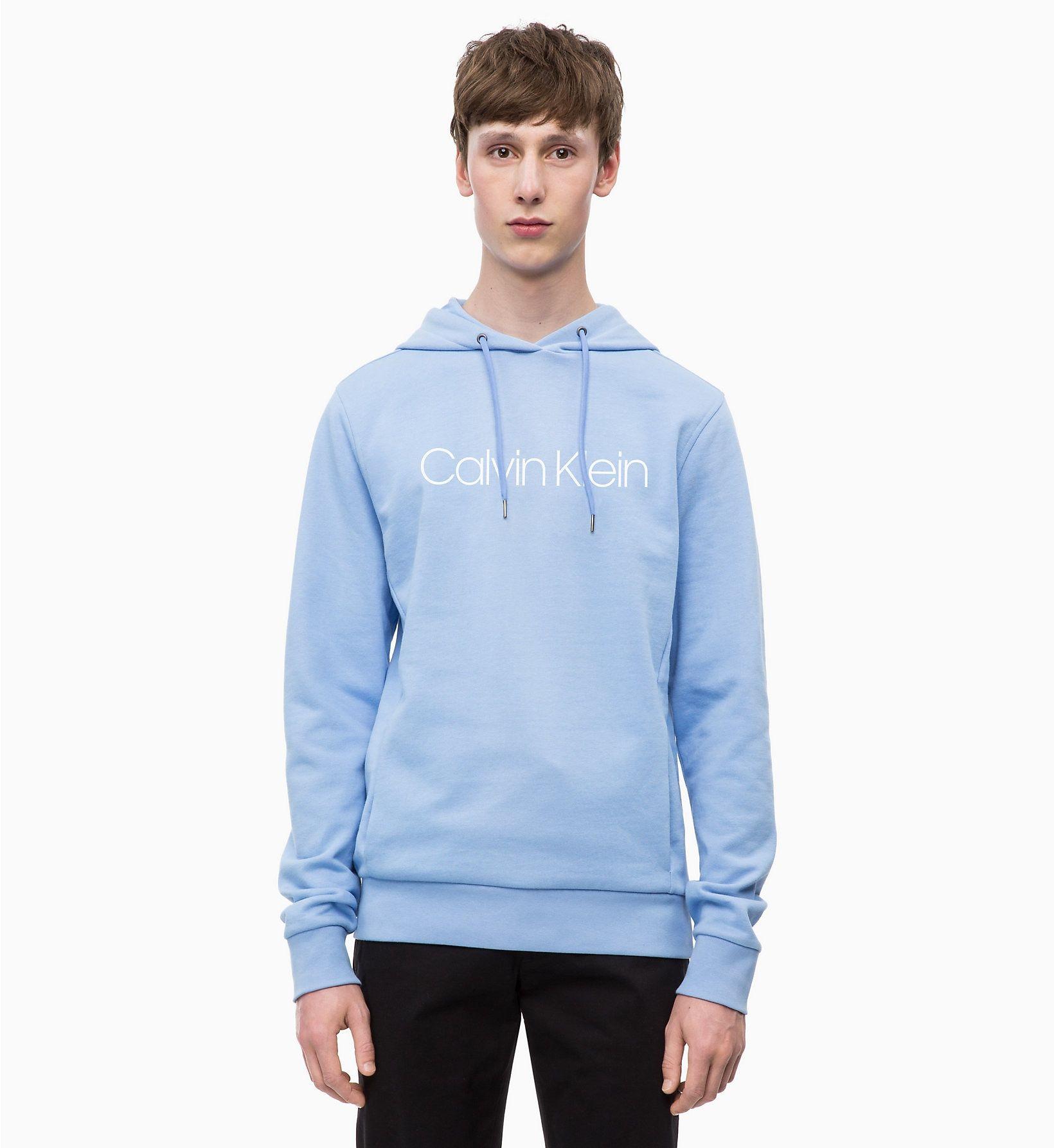 CALVINKLEIN Sweat shirt à capuche avec logo VISTA BLUE