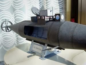 1/16 CSS Pioneer Submarine Paper Model - Military - Ships