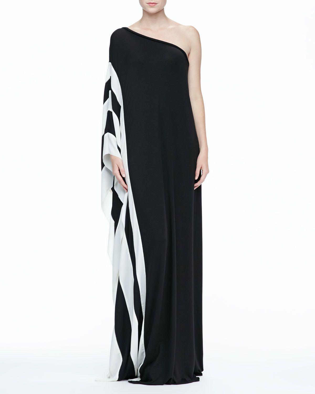 Black dress neiman marcus - Rachel Zoe Azur One Shoulder Maxi Dress Neiman Marcus