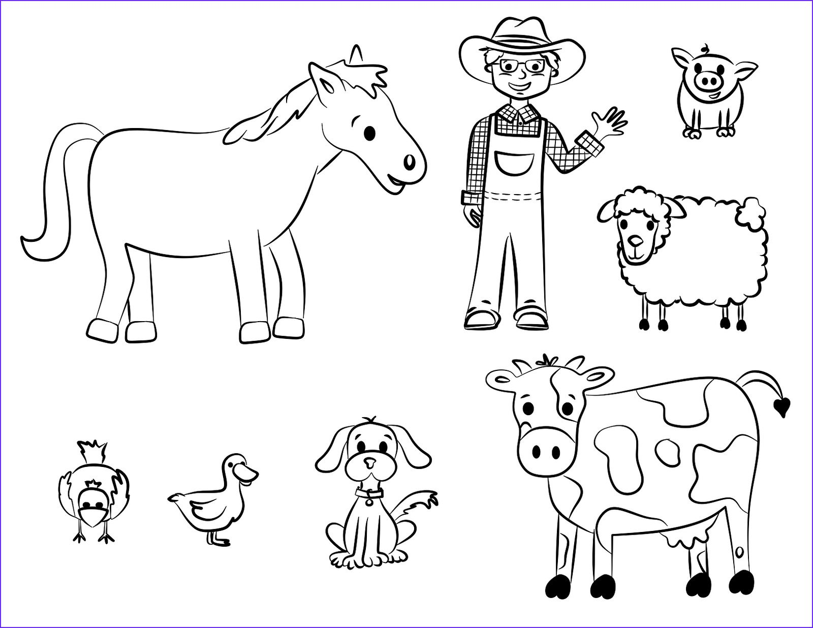 Old Mcdonald Coloring Page Zoo Animal Coloring Pages Farm Coloring Pages Farm Animal Coloring Pages [ 1236 x 1600 Pixel ]