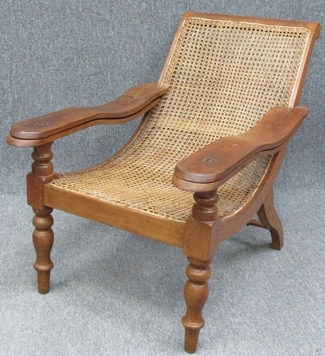 Exceptionnel Plantation Chair  British Colonial