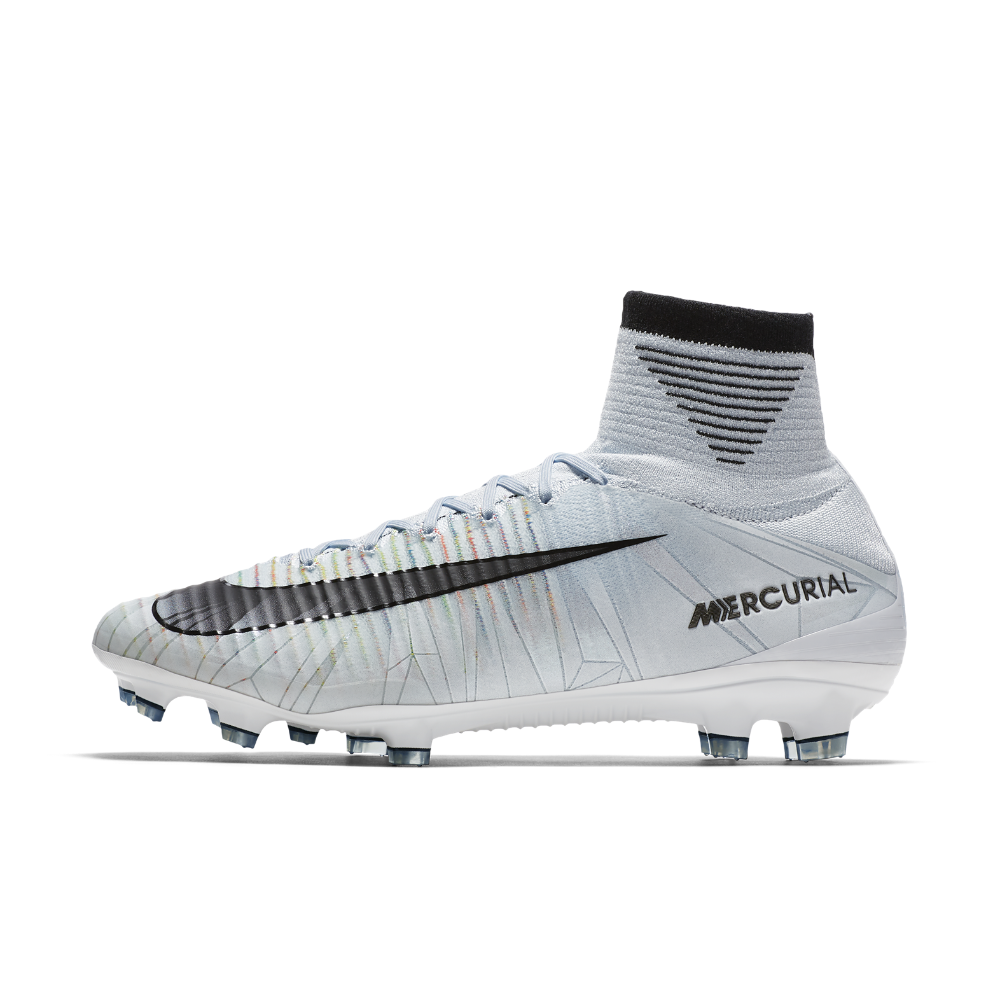 Nike Mercurial Superfly V CR7 Firm-Ground Soccer Cleats Size 9.5 (Blue) 06637665a5e3