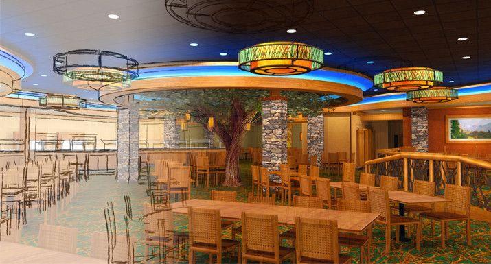 High Mountain Buffet Design At Coeur DAlene Casino