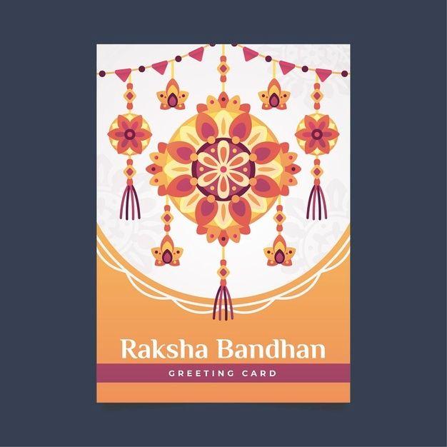 download raksha bandhan greeting card for free in 2020