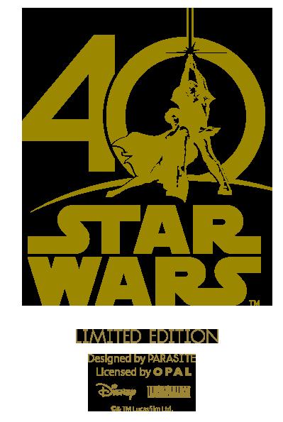 40 Years Of Star Wars Anniversary Logo Star Wars Logos