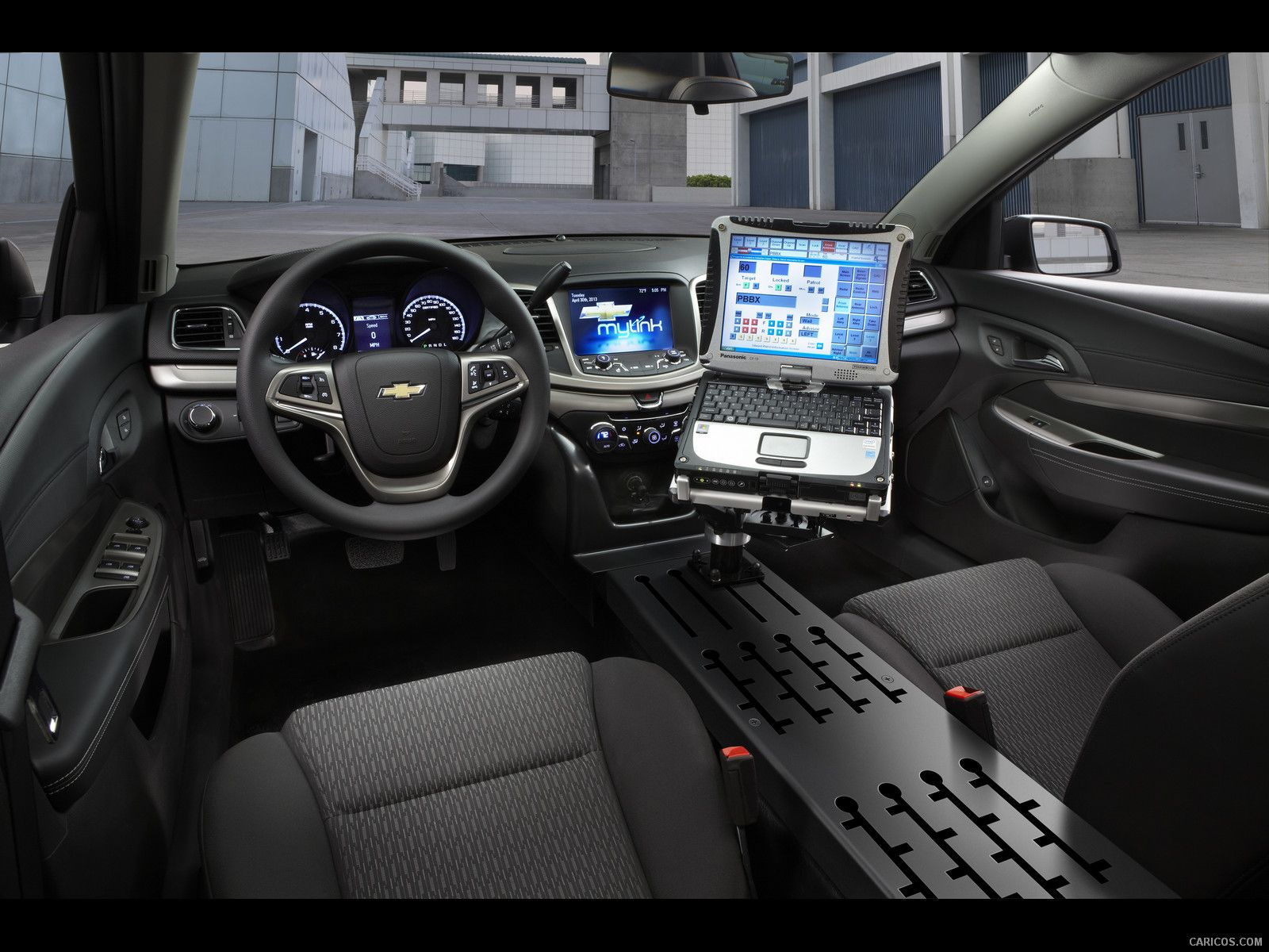2014 Chevy Caprice Ppv Police Vehicle W Mounting Platform Console