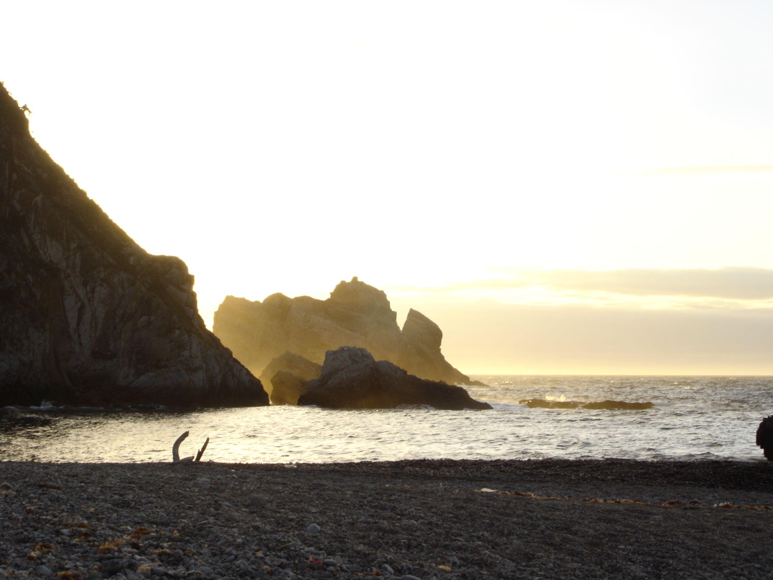 Playa de Gueirúa. Santa Marina de Cudillero.