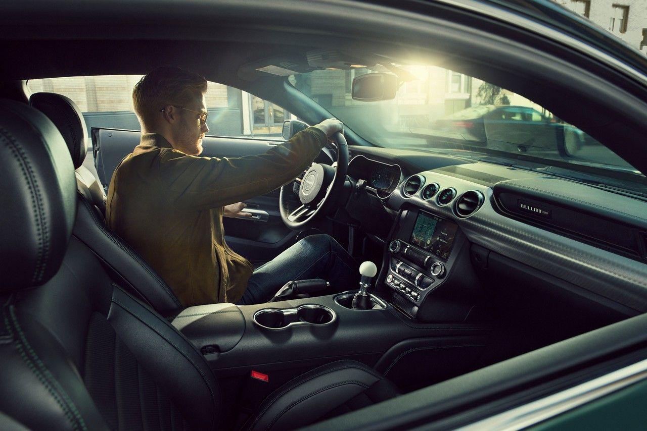 2019 Mustang Bullitt Interior From Passenger Side Window