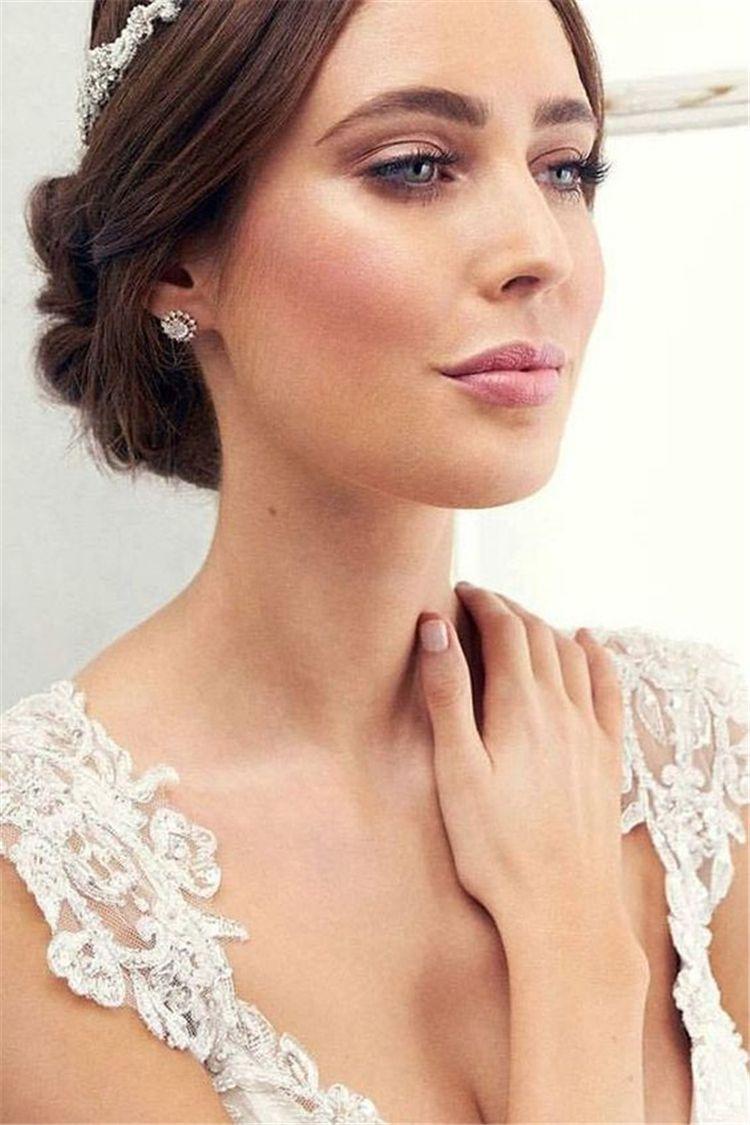 40 Most Attractive Natural Wedding Make Up Looks Wedding Makeup Looks Simple Wedding Makeup Amazing Wedding Makeup