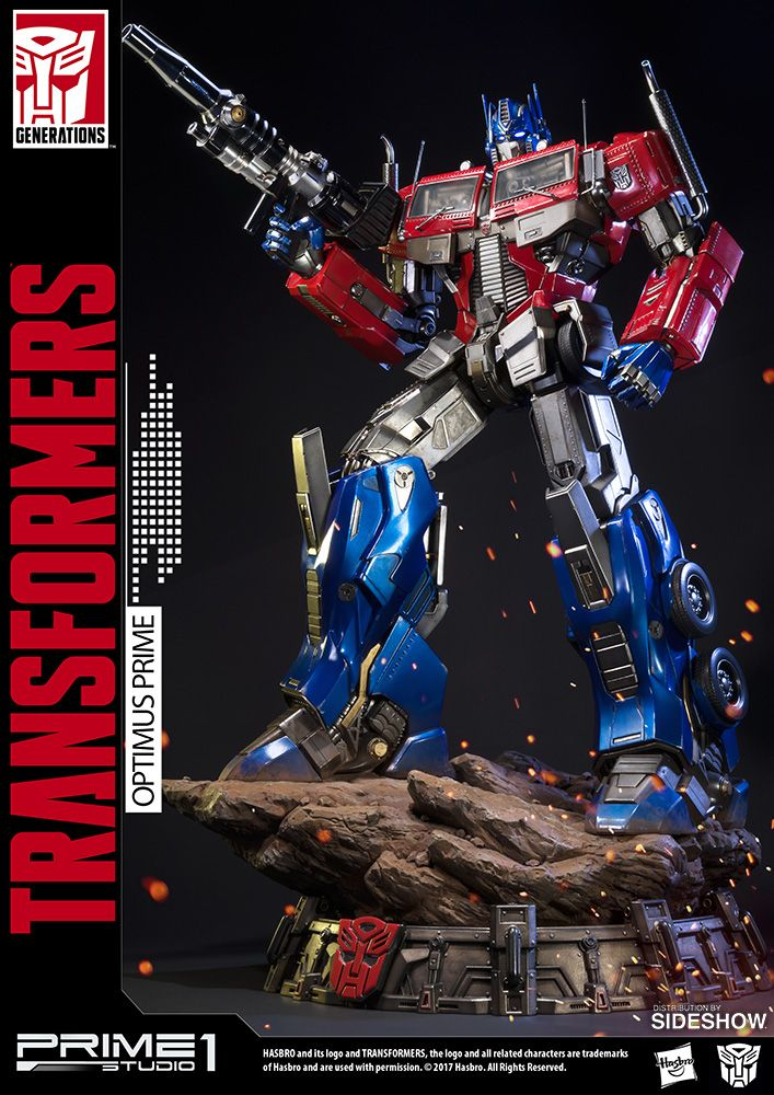 The Prime 1 Studio Optimus Prime Transformers Generation 1 Premium Masterline is…