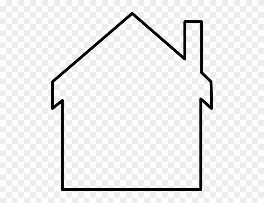 House Outline Clipart Black And White Png Download Clipart Black And White House Outline Clip Art
