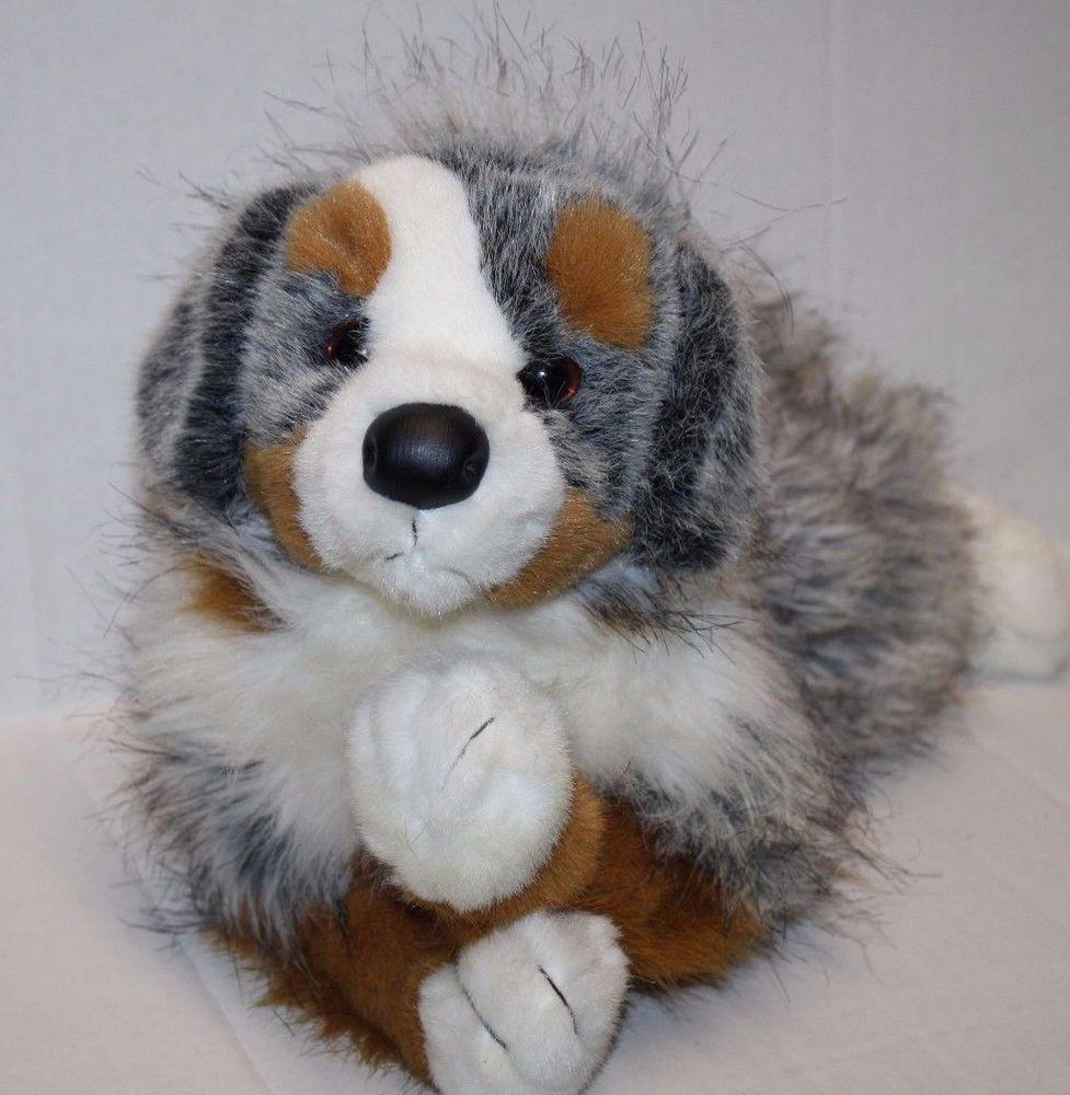 Douglas Sinclair Blue Merle Australian Shepherd Dog 12 Soft Toy
