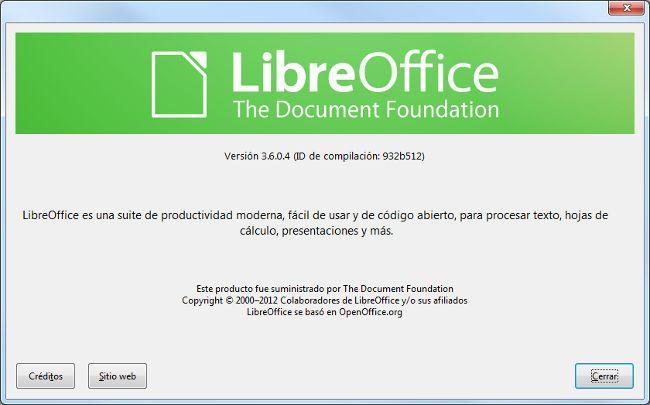 LibreOffice 3.6. Algunos cambios estéticos, nuevas prestaciones y una notable mejora en el arranque http://www.genbeta.com/p/70834