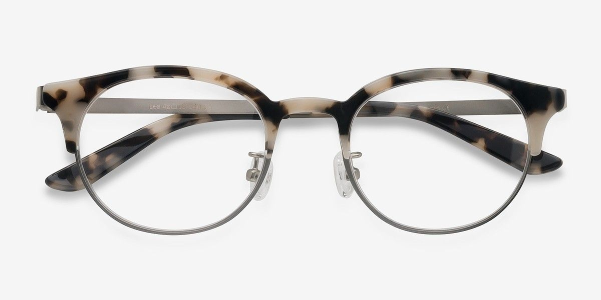 4e19d53f0716 Lea Ivory Tortoise Acetate Eyeglasses from EyeBuyDirect. A fashionable frame  with great quality and an affordable price. Come see to discover your style.