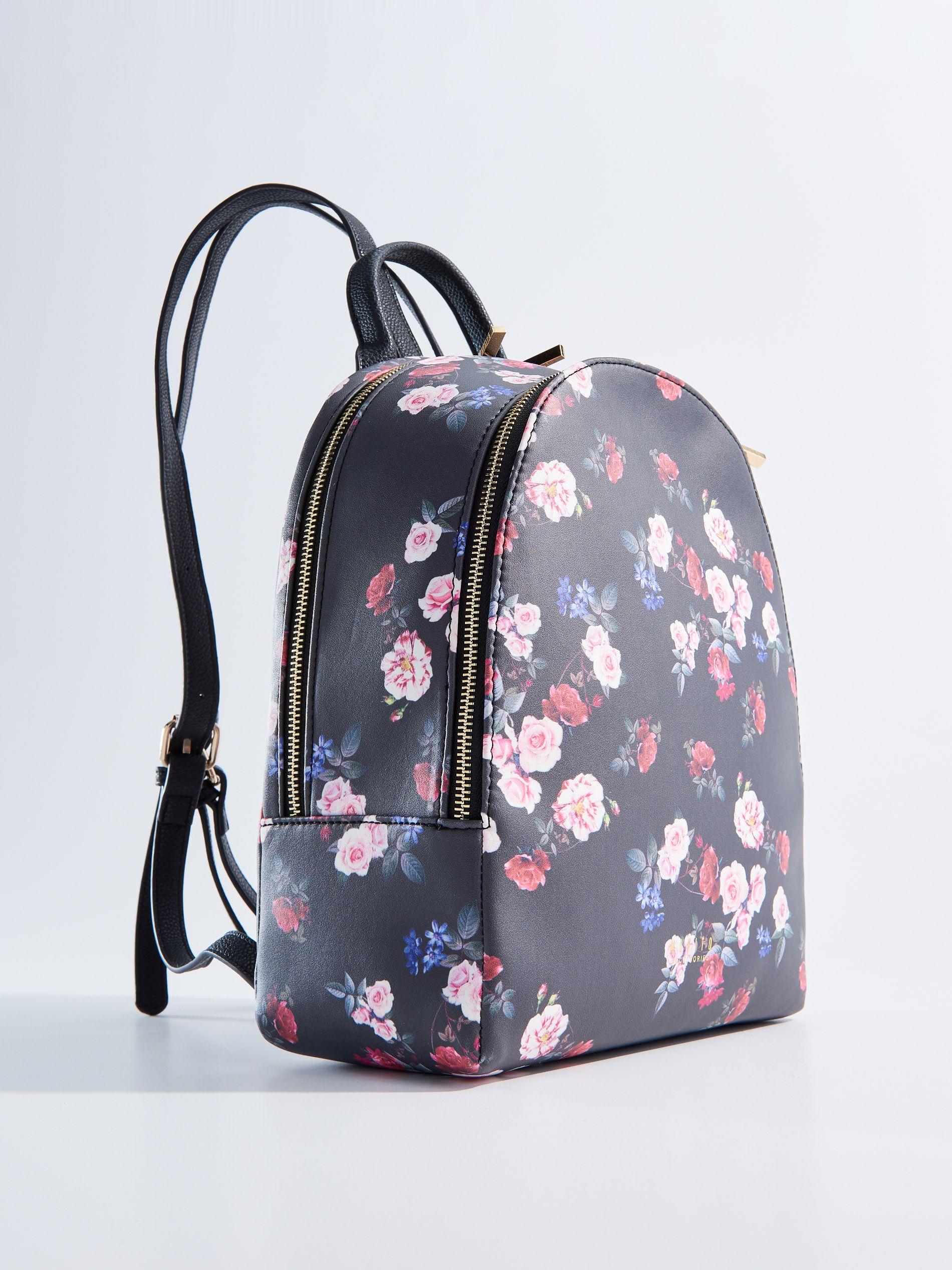 Maly Plecak W Kwiaty Mohito Sx178 Mlc Womens Rucksack Fashion Backpack Bags
